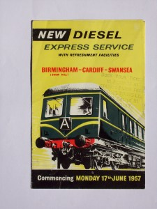 DMU 1957 first day pamphlet