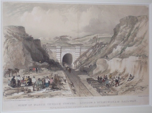 North Church Tunnel as at 1839